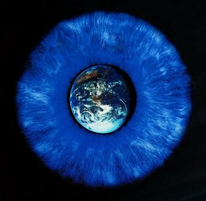 World in the iris